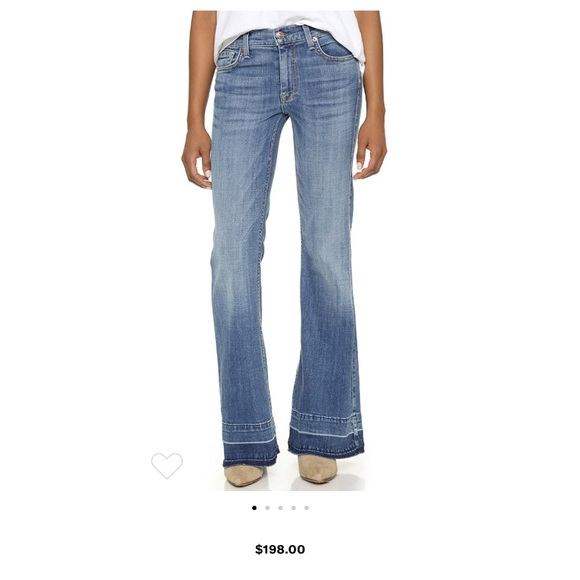 7 For All Mankind Denim - 7 FOR ALL MANKIND GINGER FLARE JEANS